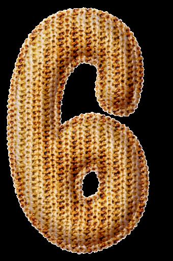 Шаблон цифр