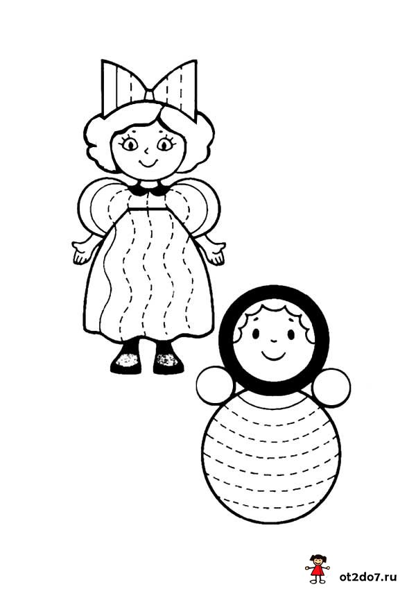 Штриховки для маленьких