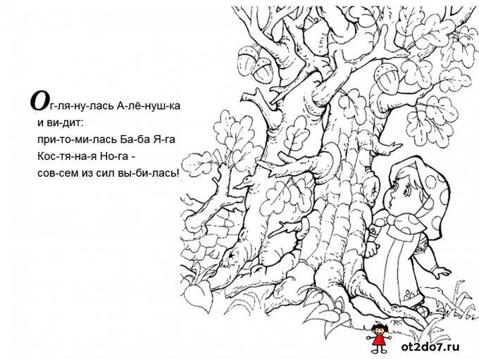 Сказка Баба Яга