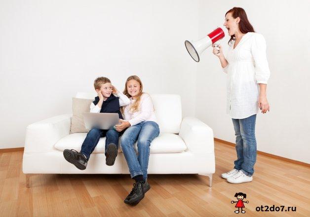 7 главных ошибок в воспитании детей