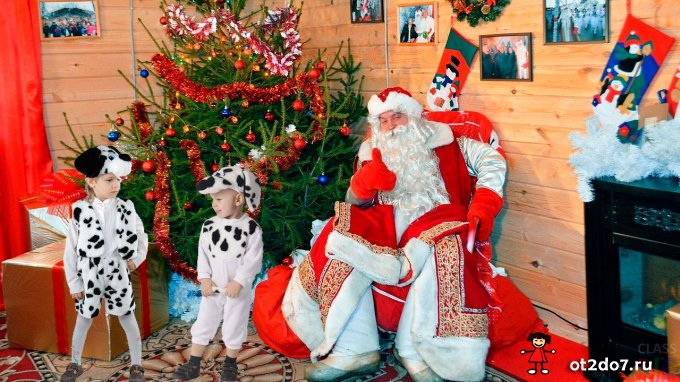 Дед Мороз и год Собаки