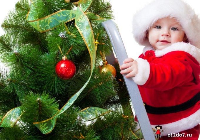 Стихи на Новый год для малышей 3-4 лет