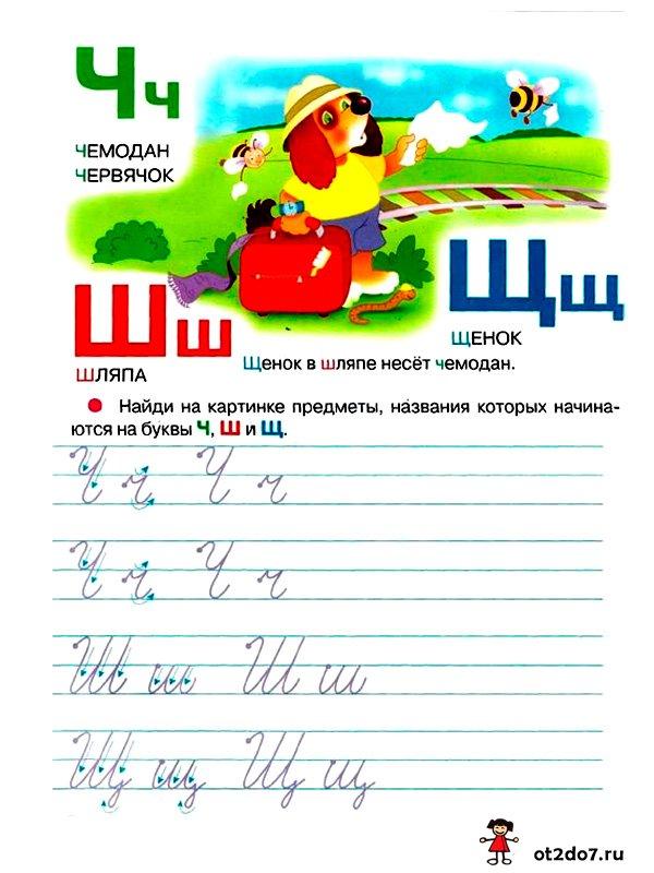 Азбука в картинках и пропись