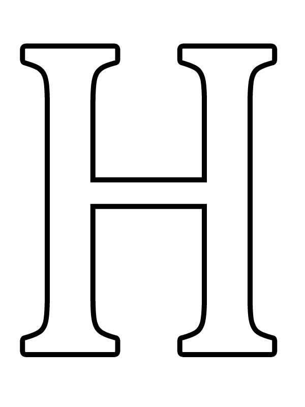большие буквы русского алфавита