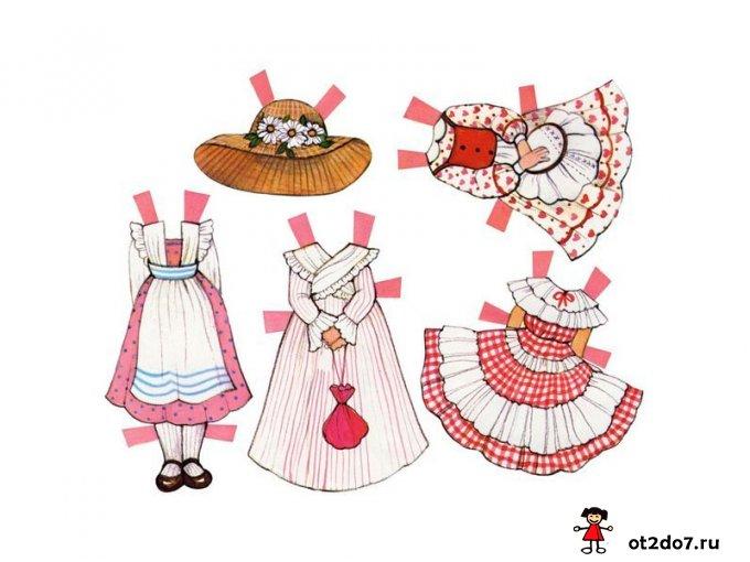 Бумажные куколки. Английские барышни
