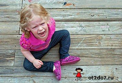 Как справляться с детскими истериками