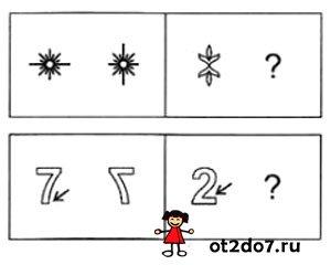 Найди логику в изменении рисунков