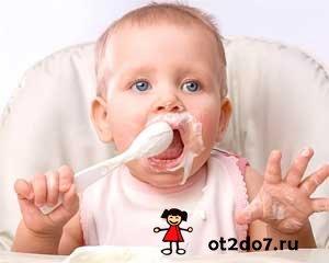Особенности детских каш в прикорме.