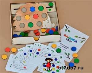 Варианты игр: Умный ежик магазин - современные деревянные игрушки