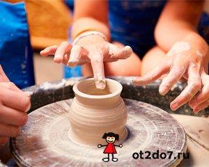 Лепка из глины - полезное занятие для малышей